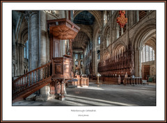 Peterborough Cathedral 2018 - 14 framed (Darwinsgift) Tags: peterborough cathedral interior hdr nikkor 19mm pc e f4 tilt shift nikon d850 church architecture