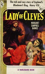 Harlequin Books 169 - Margaret Campbell Barnes - Lady of Cleves (swallace99) Tags: harlequin vintage 1950s historicalfiction anneofcleves paperback jamesderrettmccarthy