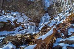 Winter Flow Over Buttermilk Falls (John Kocijanski) Tags: waterfall water stream brook creek catskills ice snow winter landscape canon5dmkii canon1740mmllens leebigstopper longexposure