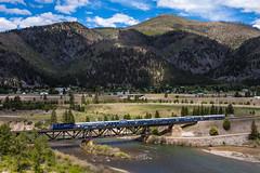 Bonner, MT (jameshouse473) Tags: train passenger emd mrl montana rail link clark fork river bonner milltown dam