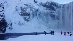 200ft Skogafoss Waterfall, Iceland (MelvinNicholsonPhotography) Tags: skogafoss iceland waterfall winter ice snow
