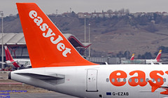 G-EZAB LEMD 10-01-2018 (Burmarrad (Mark) Camenzuli Thank you for the 10.3) Tags: airline easyjet aircraft airbus a319111 registration gezab cn 2681 lemd 10012018