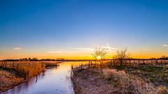 Strypse Wetering! (karindebruin) Tags: thenetherlands voorneputten westvoorne strypsewetering sunset zonsondergang water sky zuidholland