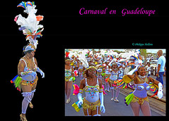 Carnaval en Guadeloupe © Le Moule (philippedaniele) Tags: danseuses grossestêtes carnaval guadeloupe humour costumes