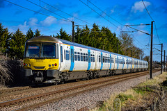 365513  - Shepreth - 15/02/18. (TRphotography04) Tags: great northern 365513 3655 pass shepreth working 1c20 1143 london kings cross cambridge