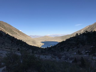 Convict Lake and the White Mtn. range