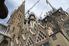 the work goes on until 2026 (charlesgyoung) Tags: charlesyoung barcelona spain sagradafamilia architecture gaudi antoniogaudi travelphotography nikon nikondx nikonphotography d500 1680 basilica church