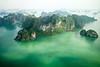 Halong Bay (Piyush Bedi) Tags: halongbay northernvietnam vietnam viet water fromabove flying nature tour travel travelling rocks green asia southeastasia fuji fujifilm xt1