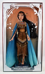 Pocahontas Limited Edition 16 inch Doll - Disney Store Purchase - Boxed - Front Cover Off -  Full Front View (drj1828) Tags: pocahontas disneystore us limitededition 16inch doll le4500 posable instore purchase 2018 collectible animated boxed
