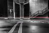 *** Red Speed *** (*** Joe Wild ***) Tags: beton street haltestelle station architektur architectur light licht weiss schwarz white black landstrase einfarbig gebäude fenster red rot fahrzeug kfz