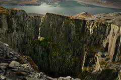 Lost World (PentlandPirate of the North) Tags: lostworld dinorwic snowdonia dinorwig slatequarry northwales derelict snakesandladders