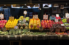 Pike Place Produce (s.d.sea) Tags: pike place market public produce food shopping seattle travel tourist colorful vegetable veggies fruit fruitstand washingtonstate washington pentax k5iis