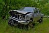 nissan pick up (riccardo nassisi) Tags: camion abbandonato auto abbandonata abandoned car truck wreck wrecked rust rusty rottame relitto ruggine ruins scrap scrapyard genova fiat 642 epave decay urbex
