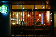 2217/1737 (june1777) Tags: snap street seoul gangnam daechidong starbucks cafe window sony a7ii kyocera contax carl zeiss planar 85mm f14 1000 clear