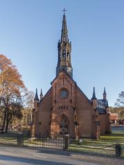 Taxinge church, Södermanland, Sweden (PriscillaBurcher) Tags: taxingechurch taxingekyrka church kyrka johanvonwestphal adolfwedelsvärd neogothicarchitecture l1030253