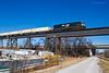 Triple Crown - St. Charles (tim_1522) Tags: railroad railfanning rail norfolksouthern ns stlouisdistrict missouri mo triplecrown roadrailer intermodal emd sd60i bridge