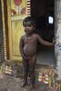 Gypsy community, Pondicherry (Stuart-Cohen) Tags: pondicherry india gypsy gypsies slum samugamtrust poverty baby babygirl