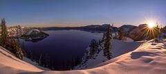 Good Morning Crater Lake! ( Crater Lake NP, Oregon) (Sveta Imnadze) Tags: sunrise craterlakenp craterlake oregon