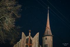 Jesus under the stars (grzegorz.maciejewski) Tags: grodzisk podlasie noc