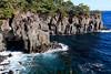 Coast made by the volcano / 柱状節理海岸 (yanoks48) Tags: coast 海岸 shizuoka 静岡 伊東 itō japan 日本 sea 海 jōgasaki 城ヶ崎