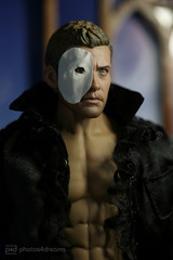 the phantom (photos4dreams) Tags: phantomoftheopera eric masc maske phantomderoper phicen doll actionfigure photos4dreams p4d photos4dreamz canoneos5dmark3 canoneos5dmarkiii 16 figure handsome toy celebrity actionfigur man mann male spielzeug jakegyllenhaal sexy mask music musical
