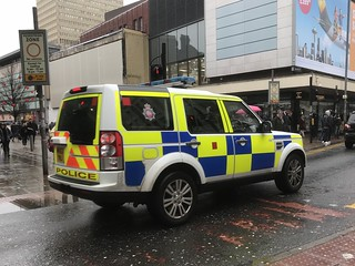 Greater Manchester Police - Police SUV - Manchester, England