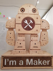 Maker Faire Lille 2018 (Gille Monte Ruici) Tags: assemblage art artistic bots bot bricolage character craft creature creation doityourself design diy detalhesemferro détournement droid droïde exposition exhibition foundobjects fiction foundartrobot gillemonteruici geek hijackingobjects handmade homemaderobots homemade invader invention industrial industriel invaders junkrobot junk lamp light metal monster metallic maker metalbox metalart make metaldish makerfaire lille mfl18 recycling recycledmetalart robot robotssculpture robotics repurposed reused reuse retro recup recyclage recycledreusedrobotsculpture sculpture space steel sci scrapmetalsculpture upcycling vintage