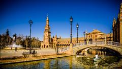 Sevilla de mi vida! (pepoexpress - A few million thanks!) Tags: nikon nikkor d750 nikond750 nikond75024120f4 24120mmafs pepoexpress sevilla plazadeespañadesevilla water spain quedadagrupofotografíayliteratura