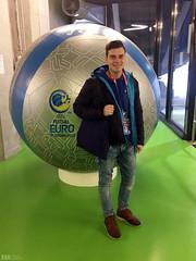 Promotorji Booking.com na UEFA Futsal EURO 2018.  www.agencija22.si www.booking.com www.sportmediafocus.com www.uefa.com