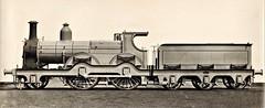 Nederlandse Spoorwegen (Dutch State Railways) - NS 2-4-0 steam locomotive Nr. 307 (Beyer Peacock Locomotive Works 1929 / 1880) (HISTORICAL RAILWAY IMAGES) Tags: steam locomotive bp beyerpeacock manchester gorton nederlandsespoorwegen ns 240