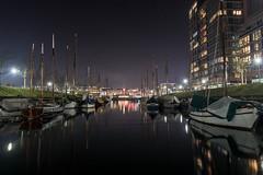 Germaniahafen (21.02.2018) (Siebbi) Tags: kiel kielerförde ostsee balticsea water wasser night nacht lowlight hafen harbour harbor kielfjord boat