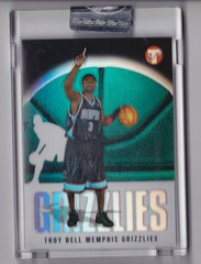 2003-04 Topps Pristine Refractors #146 Troy Bell uncirculated RC #'d 1575:1999 1 (hoosierdealer) Tags: 200304 topps pristine basketball refractor serial numbered d uncirculated rookie rc ry