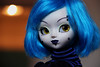 Verwoed (Naekolyset) Tags: pullip pullips doll pullipstreet street pullip2003 dolls pullipdoll junplanning groove blind tattoo makeup piercings portrait goth gothic dark piercing makeupartist bluehair yelloweyes punk
