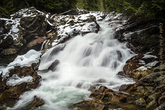 Weeks Falls 2-28-18 (Light of the Moon Photography) Tags: north cascades i90 ollalie state park weeks falls south fork snoqualmie river ice snow melt