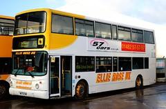 Ellie Rose Travel UK, Saltend, Hull W672 CWX at the depot. (Gobbiner) Tags: hull alx400 ellieroseuk 672 arrivayorkshire b7tl alexander w672cwx volvo