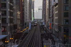 Iconic Artery (player_pleasure) Tags: el elevated chicago chicagoist chicagotransitauthority trumptower trump train windycity cityofbigshoulders