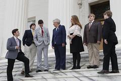 Photo Op w- Legislative Pages   19