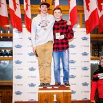 Western Ski Cross finals at Big White - U18 Men - Overall  Points Podium PHOTO CREDIT: Todd Cashin