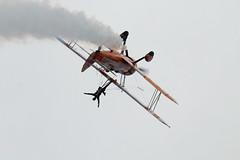 BigginHillFestivalofFlight2017-59 (mcaviationphoto) Tags: bigginhillfestivalofflight londonbigginhillairport 100thanniversaryoflondonbigginhillairport breitlingwingwalkers breitlingsa aerobatic aerobaticteam civilianaerobaticdisplayteam boeingstearmanmodel75 boeingstearmankaydet stearman kaydet stearmanaircraftcorporation theboeingcompany boeing boeingstearman biplane trainer warbird aerosuperbaticsltd rfcrendcombairfield