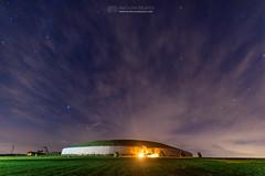 Newgrange - Brug Mac Ind Óc (mythicalireland) Tags: newgrange monument night stars astronomy astrophotography long exposure boyne valley meath star constellations clouds lights ireland myth nikon