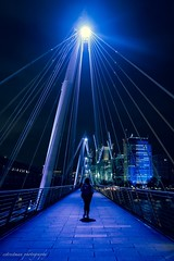 London star (e street man) Tags: london londres united kingdom uk fujifilm night noche bridge puente travel estreetman