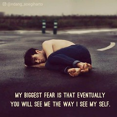 My biggest fear is...  #quote #quotes #quoteoftheday #pictures #poems #motivational #inspirational #introvert #live #travel #coffee #wisdom #kindness #biggest #fear (tjetjev_gorbatjev@yahoo.co.id) Tags: motivational kindness live coffee poems pictures quotes introvert quote biggest quoteoftheday inspirational fear wisdom travel