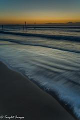 Sunrise at Branksome Chine (Twiglet Images) Tags: nikond600 branksome chine poole bournemouth sand sunrise glow orange grad dorset jurassiccoast leading lines water tide cpl lee