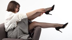 stockings (Tempsdepose.ch) Tags: highheels glamour vintage girl stockings