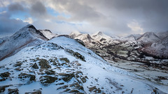 Catbells & Newlands (Ade G) Tags: landscape rocks seasons fells light mountains snow winter