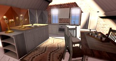 Kitchen is cute candle's play ground♥ (Kumomi) Tags: raindale newchurch buildersbox yourdreams enchantment sways