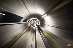To the next dimension (Guy-Michel Breguet) Tags: kloten zürich switzerland ch ngc tube metro airport transport longexposure