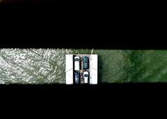 Getting a lift (davidhamann) Tags: cars elevator bridge
