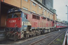 N453 Spencer St (tommyg1994) Tags: west coast railway wcr emd b t x a s n class vline warrnambool geelong b61 b65 t369 x41 s300 s311 s302 b76 a71 pcp bz acz bs brs excursion train australia victoria freight fa pco pcj