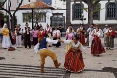 Local dance (Steenjep) Tags: madeira portugal ferie holiday urlaub funchal city street streetlife folkloremdancer local festival celebration dance music